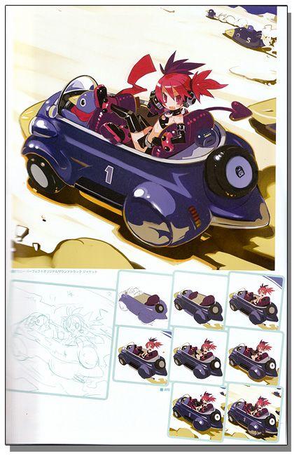 Takehito Harada Art Works Vol. 1 (Disgaea) Art Book