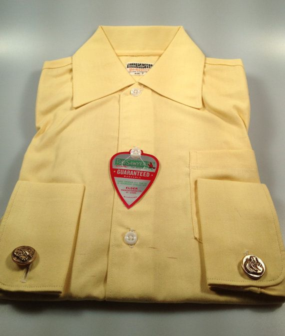 1950s Vintage Boys DRESS Shirt by TOM by rememberwhenemporium, $34.95