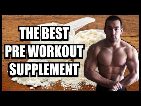 The Best Pre Workout Supplement Available