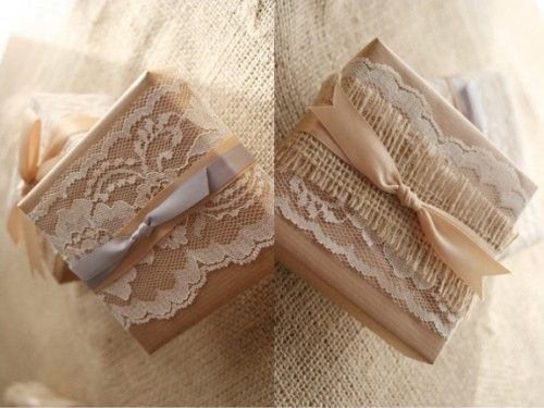 packaging: Lace Weddings, Favors, Gift Wrapping, Wedding Ideas, Packaging Diy Gifts, Gift Ideas, Posts