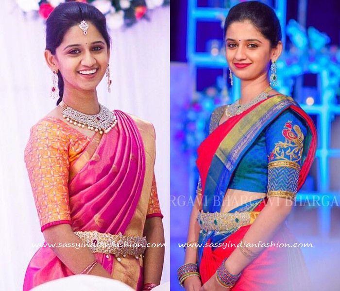 Bhargavi Kunam Blouse Designs