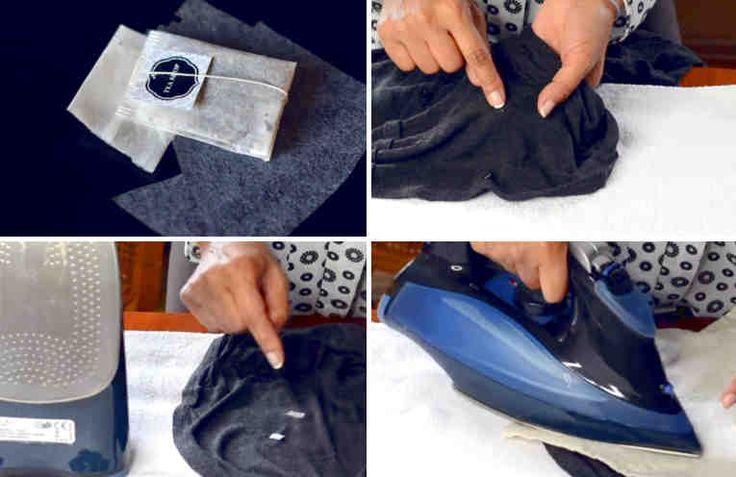 Seguramente te ha pasado que a la ropa se le forman unos pequeños agujeros, si la prenda te gusta mucho y la quieres conservar, te invitamos a ver este video aqui abajo en cual una bloguera famosa Rosa Garalva te va a mostrar cómo puedes recuperarla y usarla durante más tiempo. Necesitas: +