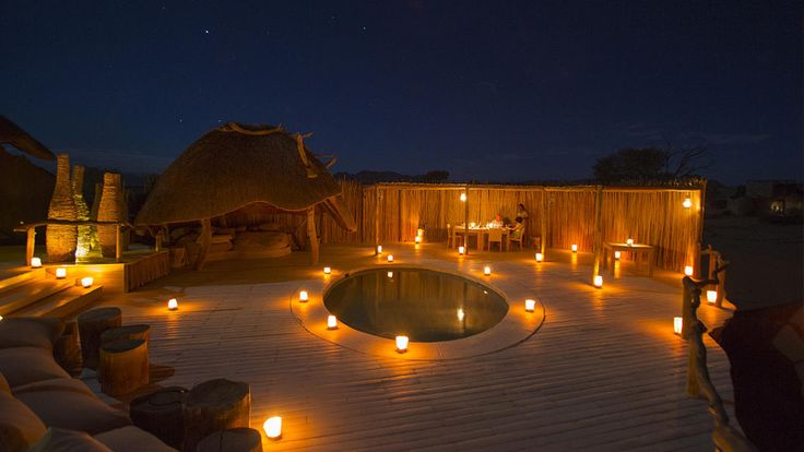 Little Kulala camp in Sossusvlei #luxurytravel #namibia