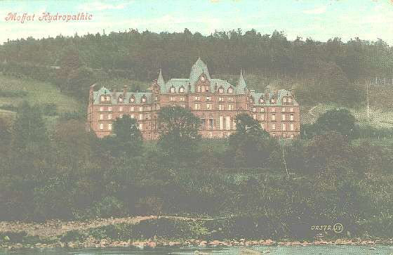 Hydrpathic.Hotel Moffat (burned down in the 1930's). My great grandfather was staying one night during a census.