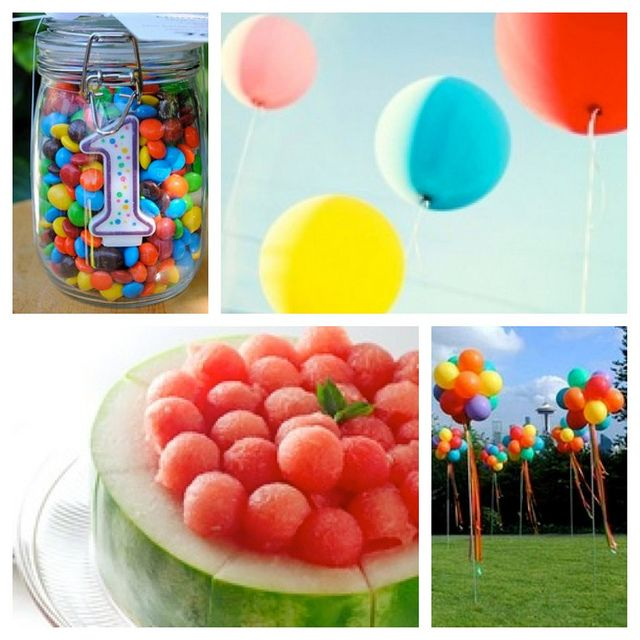 bouncy Ball Themed Birthday  | ... ball themed birthday party. Not sports balls...more like bouncy balls