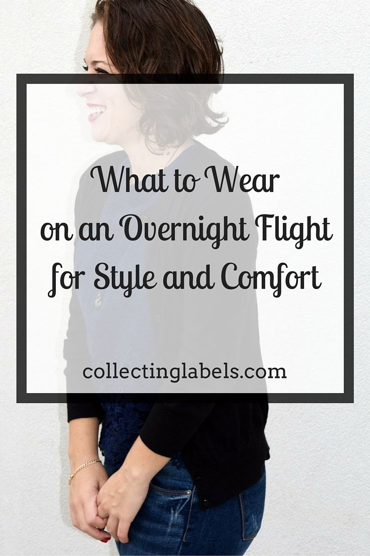 What to wear on an overnight flight for style and comfort ...