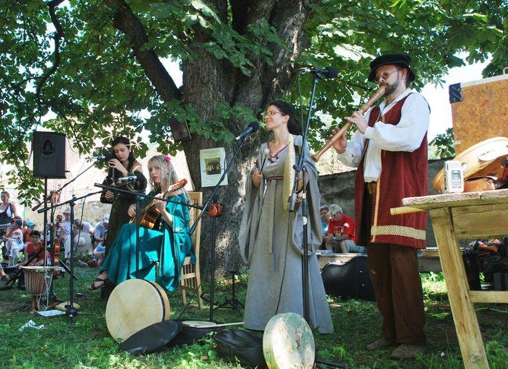 Folk Art Festival - Biertan Village in Transylvania, Romania