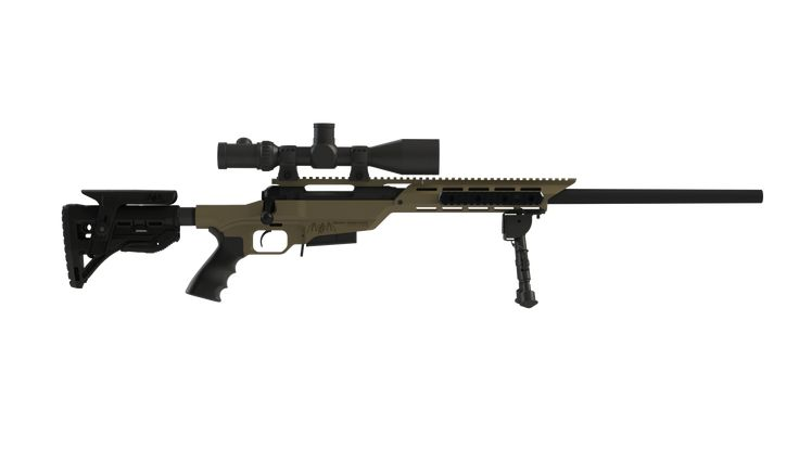 The Hunter Stalker SOCOM Short Action the ULTIMATE a universal, tactical chassis that is available for the Remington 700 and Savage model 10.