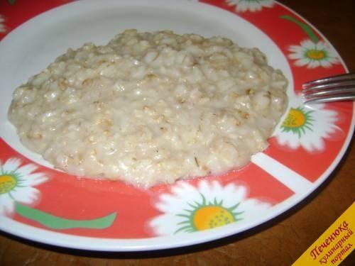 Овсяная каша на воде (пошаговый рецепт с фото) — Кулинарный портал Печенюка