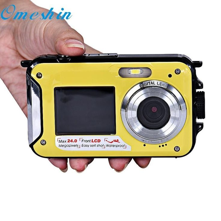 Top Quality Mini Home Use Double Screen Waterproof Camera 24MP 16x Digital Zoom Dive Camera FHD. #Quality #Mini #Home #Double #Screen #Waterproof #Camera #24MP #Digital #Zoom #Dive #divingcamera