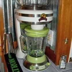 I love frozen drinks and have found to replicate the yummy ones I get while I am out, a Margaritaville blender is the only way to go!    I have...