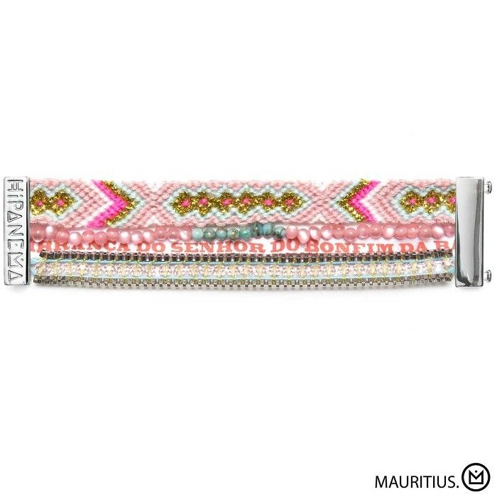Bracelet Mauritius Hipanema collection été 2015 - à retrouver sur www.lilishopping.com/fr/ - #bracelet #hipanema #cuff #summer #lien #coquillages