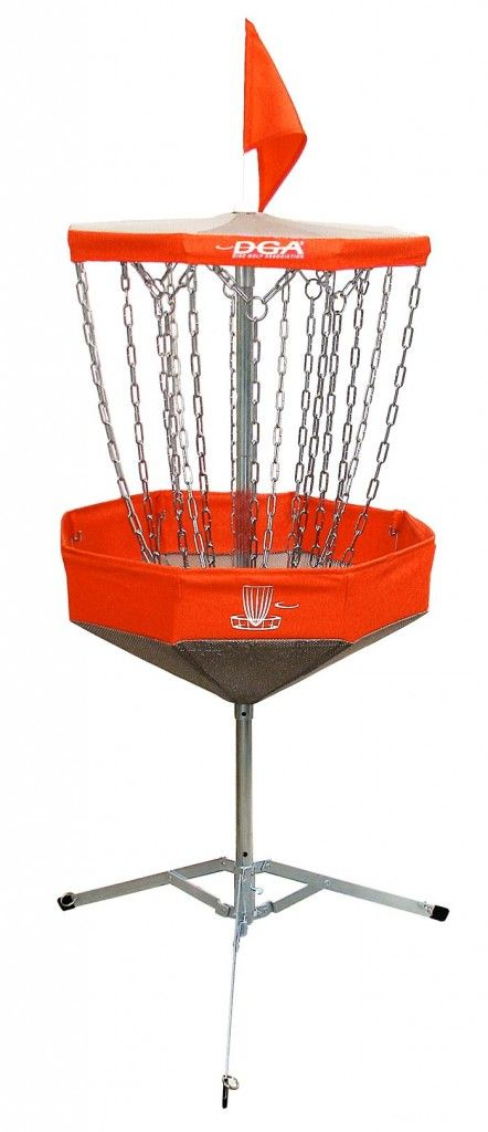 Mach Lite Portable Disc Golf Basket - DGA | Disc Golf Association