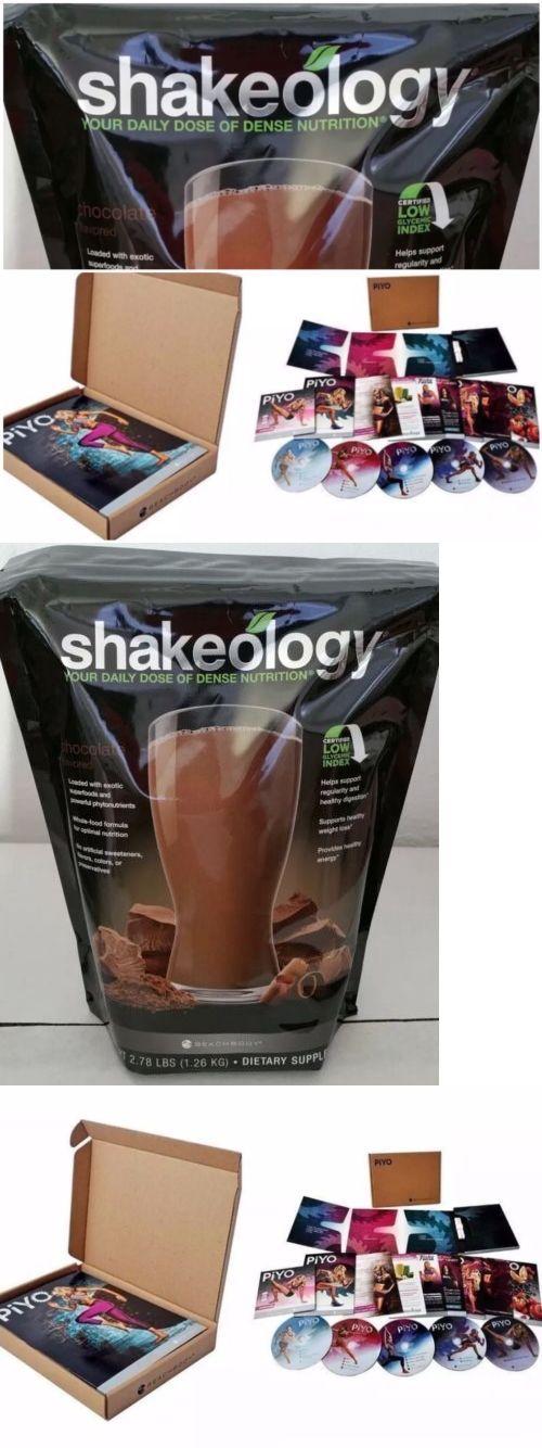 Fitness DVDs 109130: Beachbody Piyo Dvd Workout Set + Bag Chocolate Shakeology Chalene Johnson New -> BUY IT NOW ONLY: $159.95 on eBay!