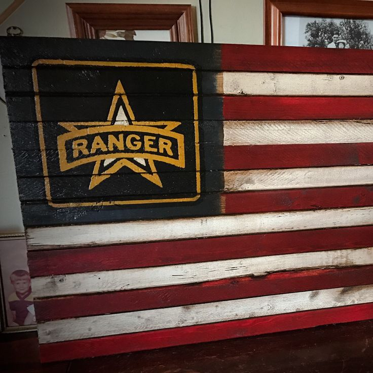 Just added a new military flag to honor the men and women in the Army Rangers.  Features the traditional red, white, and blue American flag and proudly displays the US Army Ranger logo in the upper left.