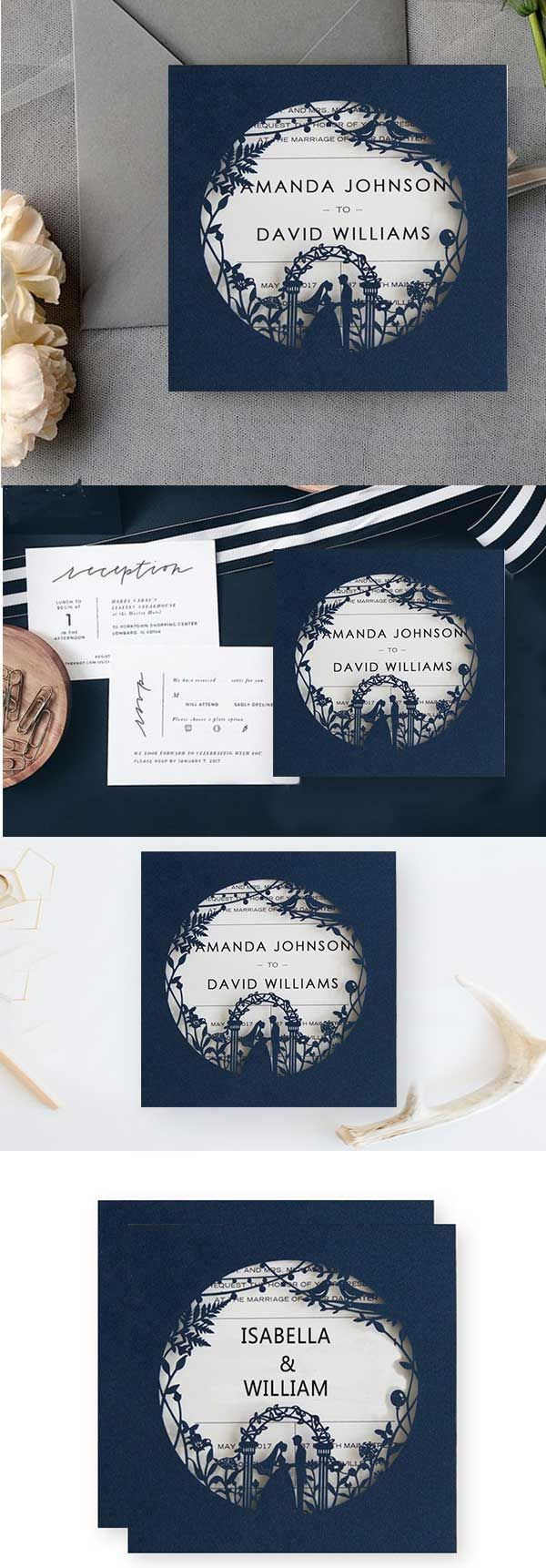 not on the high street winter wedding invitations%0A wedding invitation  Wedding Invites Paper