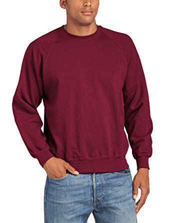 d207cbc3 Fruit of the Loom Mens Lightweight Raglan Sweatshirt (240 GSM) Review