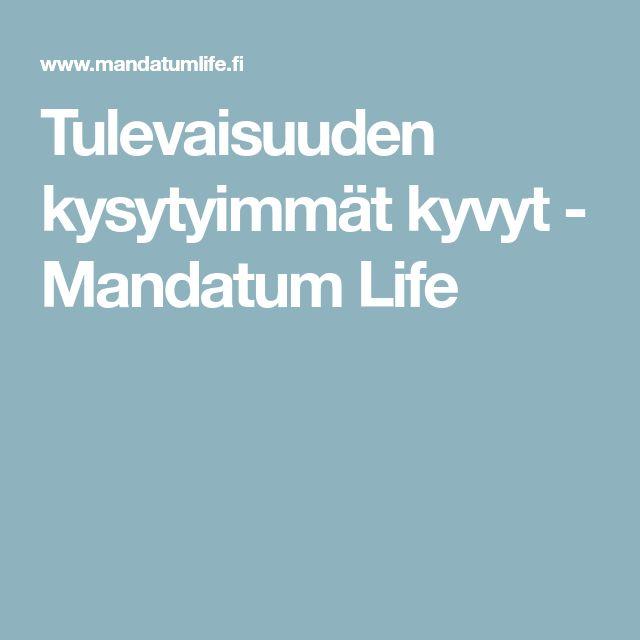 Tulevaisuuden kysytyimmät kyvyt - Mandatum Life