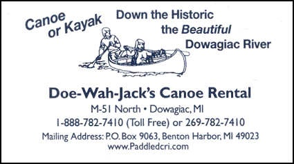 Go Canoeing! 6.6 Miles from Southwestern Michigan College
