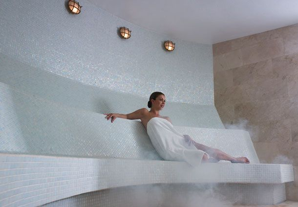 Steam Room--I need one of these in my house.