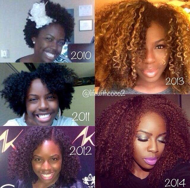 Years Natural Hair