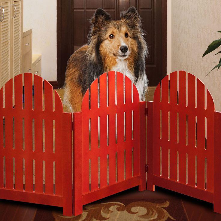 Adirondack Style Pet Gate | Pet Supplies | Brylanehome