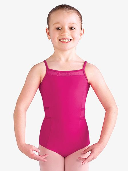 ee927cf8b405 Bloch Girls Diamond Heart Mesh Camisole Leotard Back Strap, Diamond Heart, Dance  Costumes,