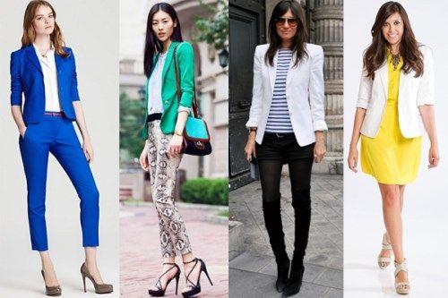 Стильные пиджаки для женщин