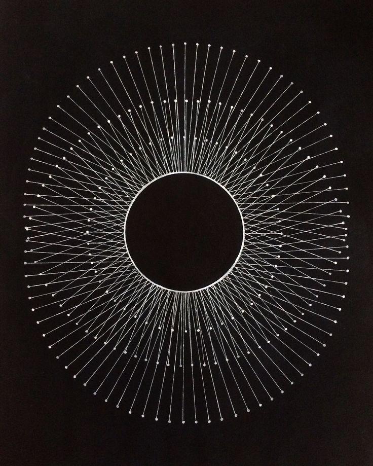 """Orbit"", 47x60 cm. By The Luna Factory."