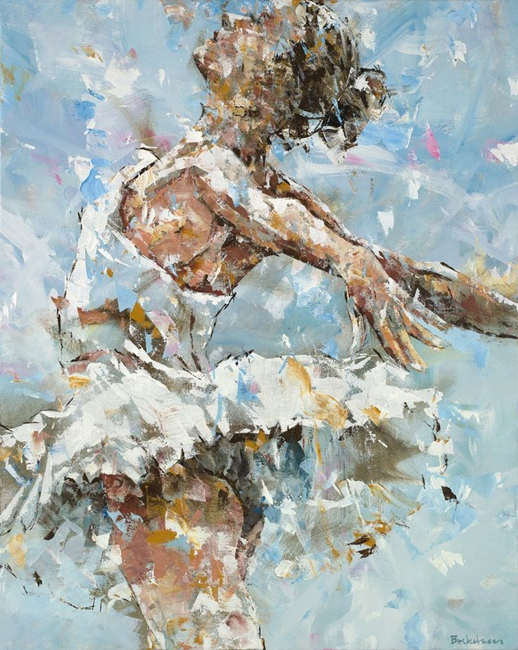 Dorus Brekelmans – Ballerina in blue