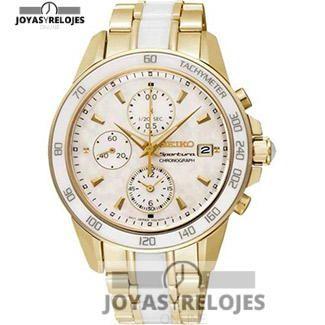 ⬆️😍✅ SEIKO SNDX02P1 😍⬆️✅ Sublime ejemplar perteneciente a la Colección de RELOJES SEIKO ➡️ PRECIO 364.01 € Lo puedes comprar en 😍 https://www.joyasyrelojesonline.es/producto/seiko-sndx02p1-reloj-de-senora-seiko-sportura-cronografo-100-m-acero-y-ceramica/ 😍 ¡¡No los dejes Escapar!! #Relojes #RelojesSeiko #Seiko