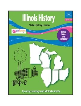 Illinois History is a literacy-based lesson that includes AUDIO and is aligned with the Common Core Standards.