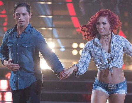 Sharna Burgess, Bonner Bolton Are Both Speechless About the Reaction to Their Dancing With the Stars Chemistry | E! News Sharna's my girl!!
