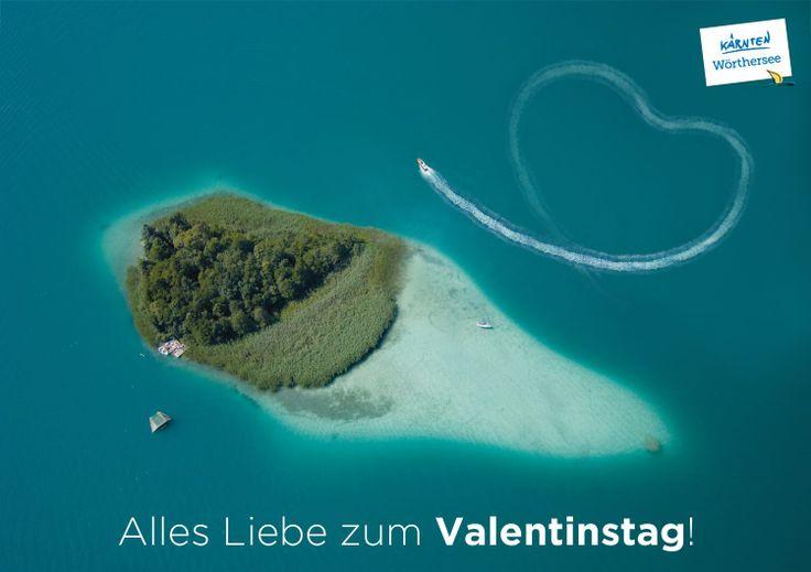 Alles Liebe zum #Valentinstag am Wörthersee!