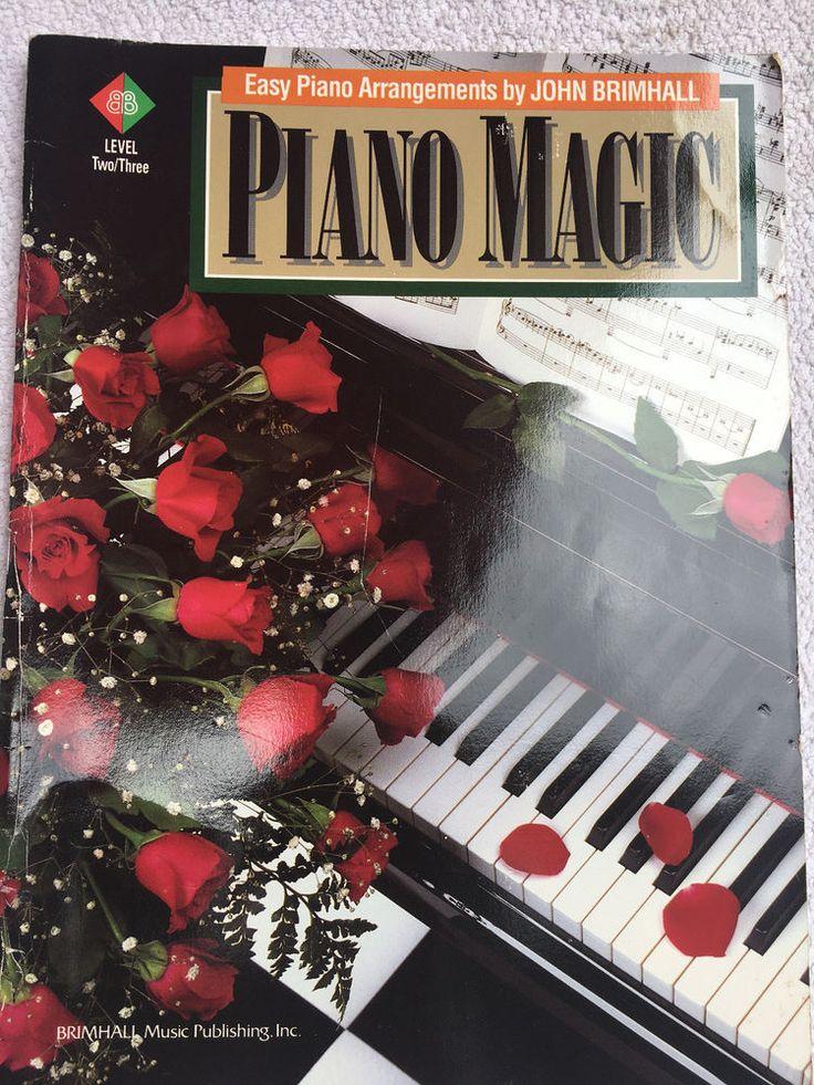 Piano Magic - Easy Piano Arrangements Sheet Music Book by John Brimhall