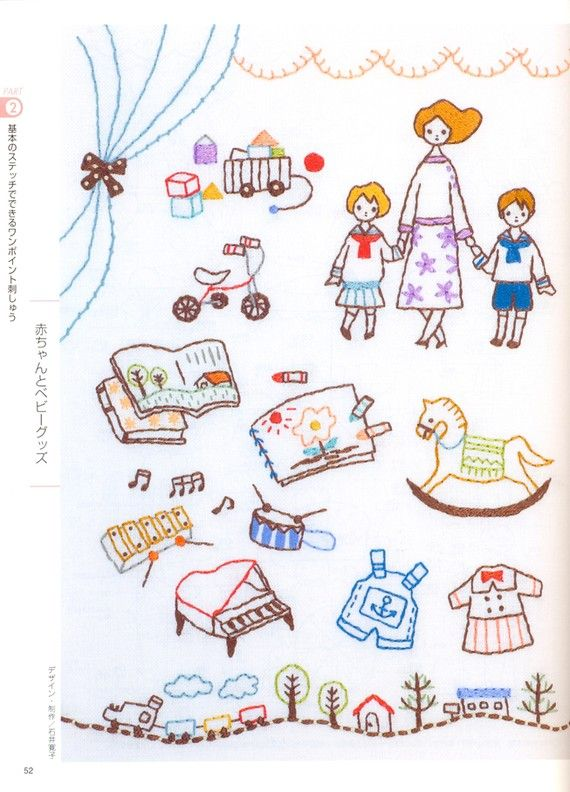 Embroidery Encyclopedia - Japanese craft book. $38.00, via Etsy.