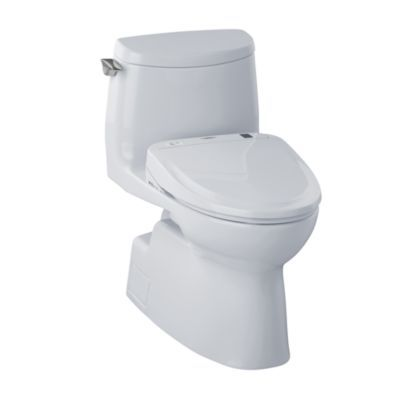 An elongated, beautifully sleek one-piece design. Features our industry-leading Tornado flushing system (see SmartFact below) and CeFiONtect ceramic glaze, which creates an extraordinarily smooth, ion-barrier surface to help keep the bowl cleaner with every flush. Universal Height. This toilet only sold with a compatible Connect+ Washlet®. See compatible Washlets below in the related products section.