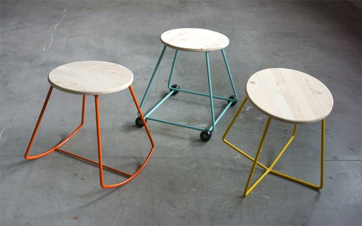 moschettieri-stools-series ON DESIGN BOOM