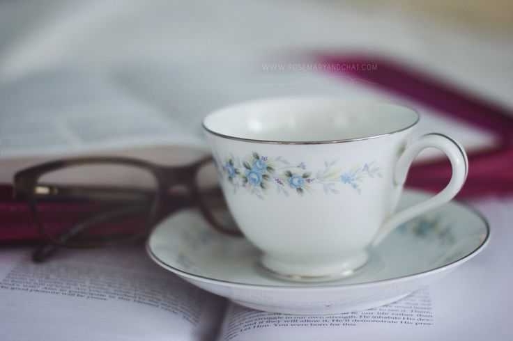 The best start to any day is with God's Word and a cup of Tea