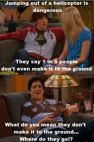 Sometimes I forget how hilariously stupid Drake and Josh was. xD
