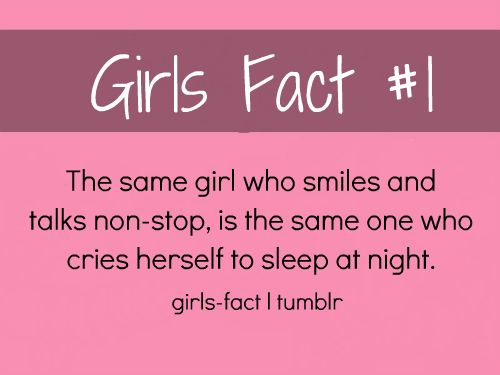 girl facts tumblr
