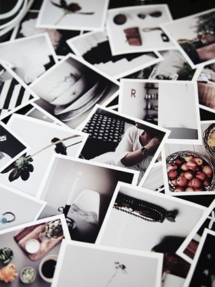 We have a slight obsession with polaroids