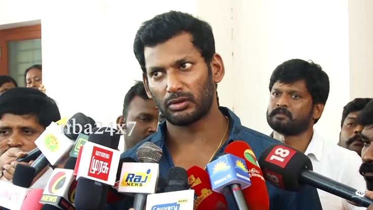 Actor Vishal ,Loss is always for Produces not for FESSI Workers  nba 24x7