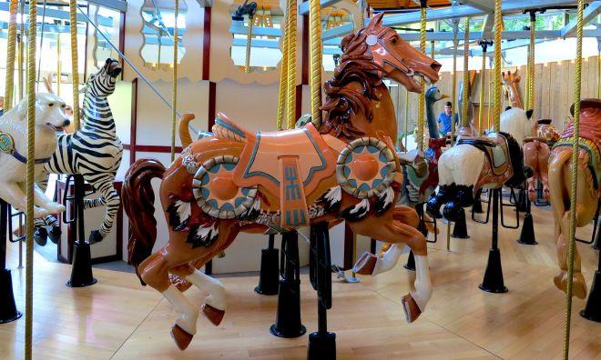 The Rose Carousel - horse #butchartgardens #explorevictoria #carousel #victoriabc #gardens #gardentourism