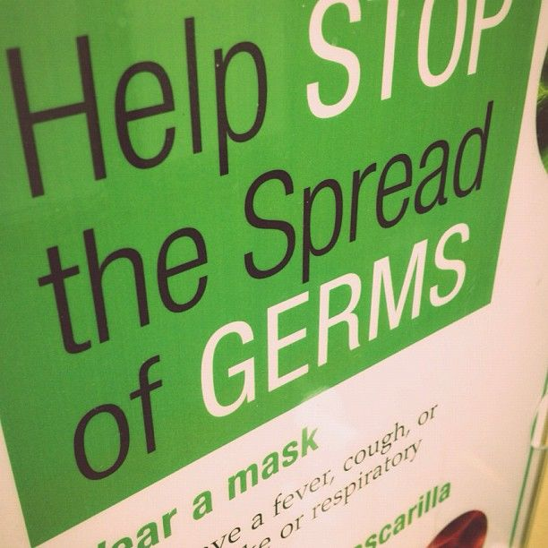 Oh no, Germs!
