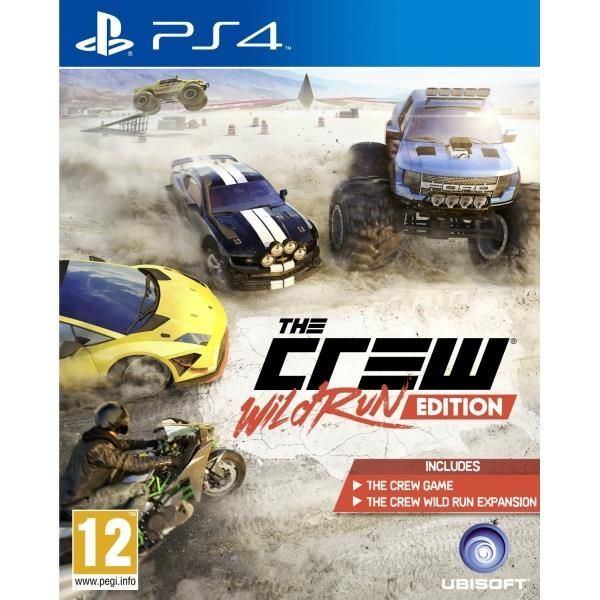 The Crew The Wild Run Game PS4 | http://gamesactions.com shares #new #latest #videogames #games for #pc #psp #ps3 #wii #xbox #nintendo #3ds