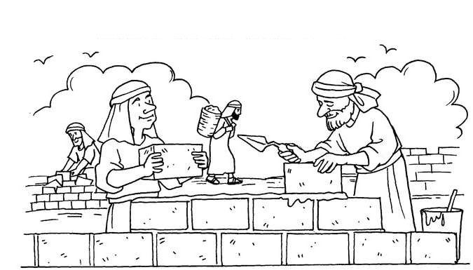 Coloring Pages For Nehemiah : Best images about nehemiah on pinterest crafts lego
