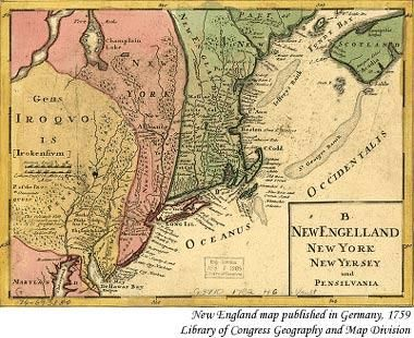 A fictional recount on the trip to the new england colonies
