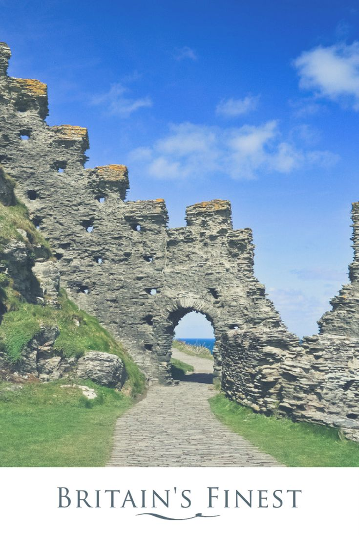 Immerse yourself in Arthurian Legend at Tintagel Castle  #cornwall #kingauthur #familyholidays #children #holidayswithkids #englishheritage