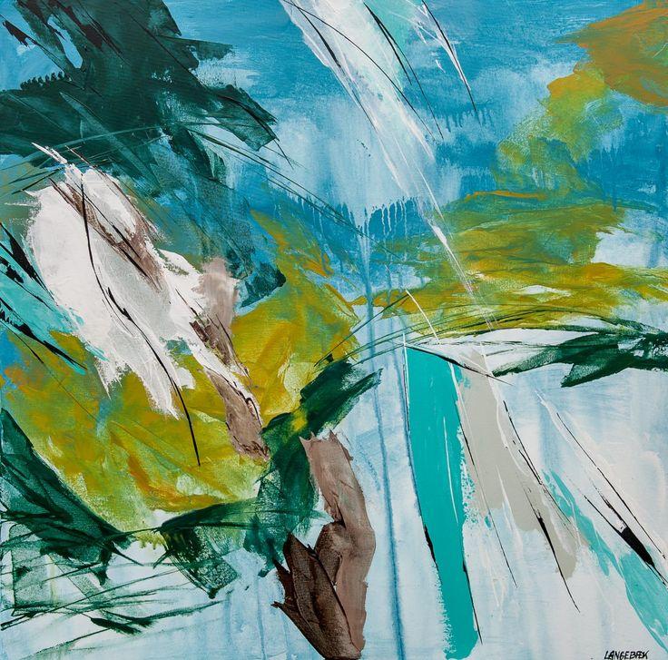 100 x 100 cm Maleri No 352Pris Kr. 6.000,-